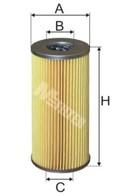 Bosch 1457429278 Oil-Filter Element