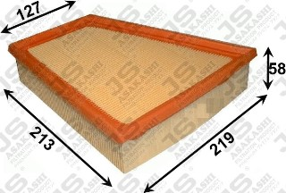 pack of one Blue Print ADH22232 Air Filter